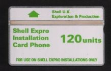 Phonecard BT Telephone card Shell Oil  #190